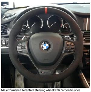 (予約商品)BMWMPerformanceスポーツ・ステアリング・ホイール F25/ F25 LCI/ F26 弊社限定サービスBMW社発行取付説明書付属