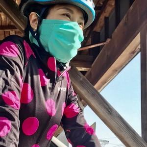 予約6/1より<付属品無し> ニット スポーツマスク <ジョギング サイクリングなどアクティブな活動に>