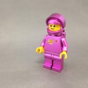 LEGO レゴ スペースマン・ピンクメタ(ハンドメイド)