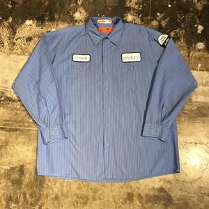 RED KAP  stripe work shirt レッドキャップ ストライプ ワークシャツ