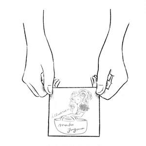 【フルオーダー】名刺イラストデザイン