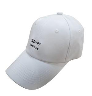 KEEP DRY ローキャップ [MKH-017 WHITE]