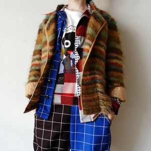 """KO and CO"" J.C DE CASTELBAJAC mohair jacket"