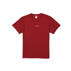Moshu 刺繍Tシャツ [レッド]