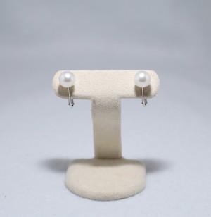 パールイヤリング(あこや本真珠)silver