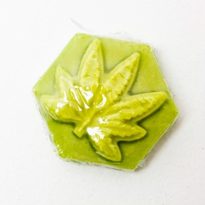 GANJ WAX / LUMINOUS GREEN[GROW IN DARK] / S