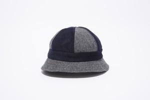 2 TONE WOOL HAT
