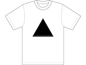 Split endは日本語で枝毛と言いますTシャツ ホワイト