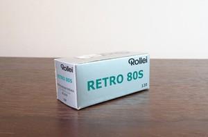 【モノクロネガフィルム 120 ブローニー】Rollei(ローライ) RETRO80S