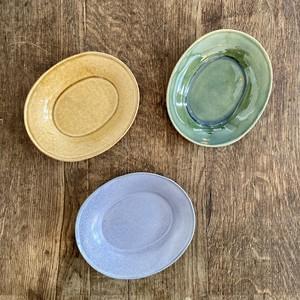 今井律湖さんの楕円小皿