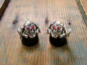 Toy Skull Ring(Sv925)