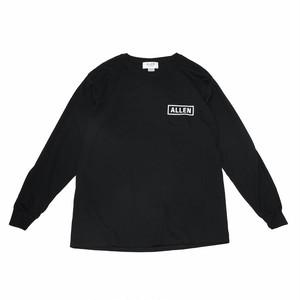 ALLEN LOGO 2021  Long T-shirt Black