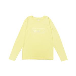 scar /////// OG KIDS L/S TEE (Light Yellow) 5.3oz