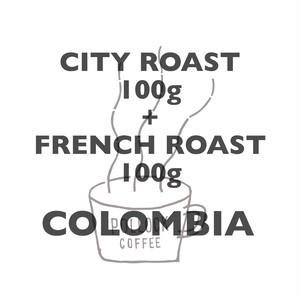 飲みくらべ(ロースト)100g+100g コロンビア ナリーニョ エル・マコ農園