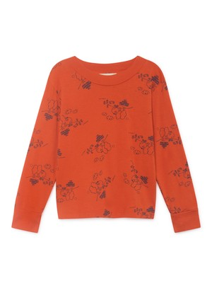 ボボショセス(BOBO CHOSES) -tangerine long sleeve t-shirt[2-3Y/4-5Y/6-7Y]