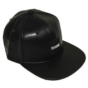 BOX LOGO CAP LEATHER