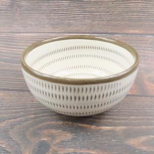 小石原焼 4寸多用鉢 トビカンナ 上鶴窯