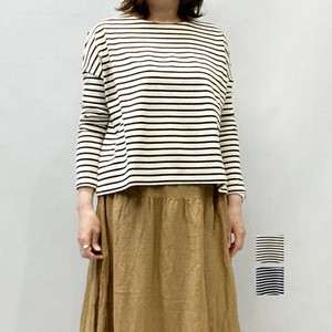 [SALE] Bluene(ブルーネ) BORDER V-BACK TOP