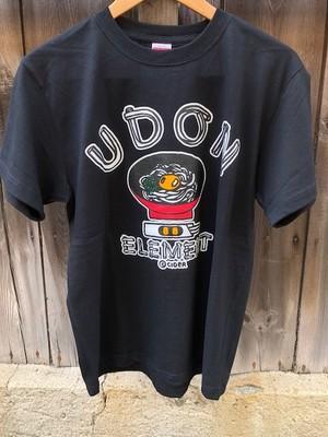 かせきさいだぁ UDON ELEMENT Tシャツ フルカラーver.
