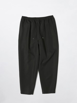 yoshiokubo TWILL TUCK PANTS Black YKS21416