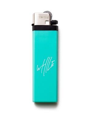 WHILE I REMEMBER Logo Lighter