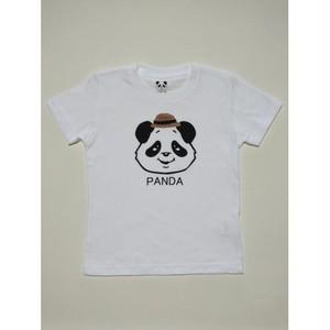 PANDA帽TEE(白)