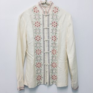 embroidery china blouse