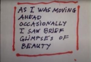 ■11月21日(土) 映画上映「歩みつつ垣間見た美しい時の数々 As I Was Moving Ahead Occasionally I Saw Brief Glimpses of Beauty」