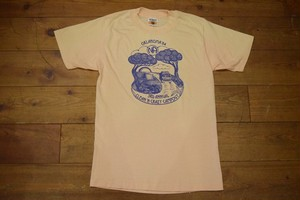 USED 80s ビンテージTシャツ Clean crazy campout サンベルト S位