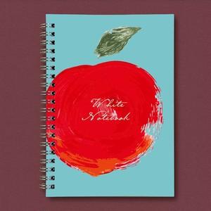 カスタムリングノート【太陽のりんご】