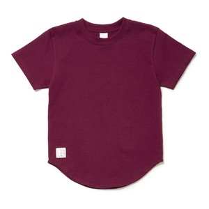 Kids Round tee - BORDEAUX