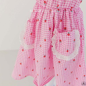 «sold out» Gingham check one piece 2colors ギンガムチェックワンピース