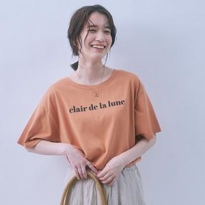 幅広プリントTシャツ FLM71300