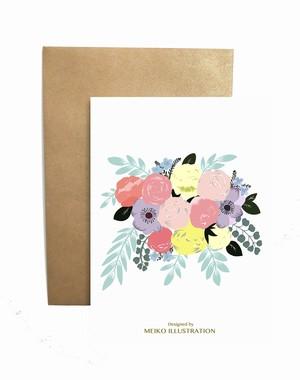 Card + Envelope カード + 封筒