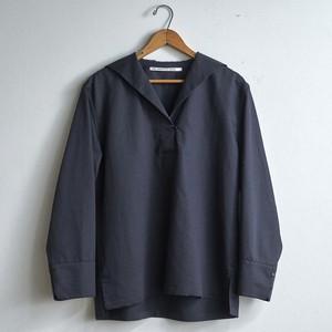TENNE HANDCRAFTED MODERN テンハンドクラフテッドモダン SAILOR COLLAR SHIRT セイラーカラーシャツ(レディース)