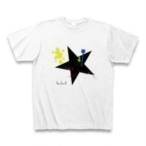 BIG STAR(星柄)ペイント Tシャツ スターシリーズ|Number8(ナンバーエイト)