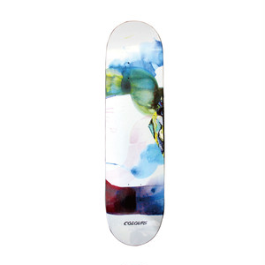 COLOURS ONE OFFS WILL BARRAS x PAUL HART WATER COLORS DECK 7.75INCH デッキテープ付き(EBONY GRIP)