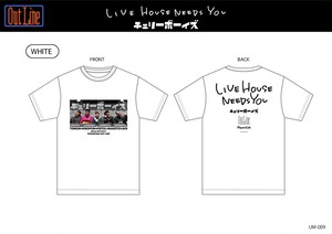 LIVE HOUSE NEEDS YOU Tシャツ/チェリーボーイズ(UM-009-2)2XL,3XL