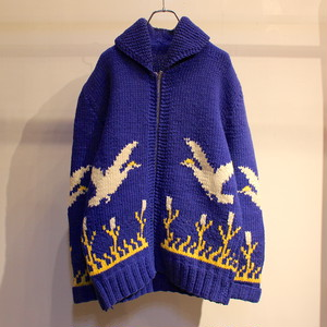 60s VINTAGE COWICHAN SWEATER ''白鳥''
