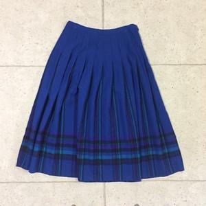 OLD PENDLETON 70s チェック ロングスカート size:16
