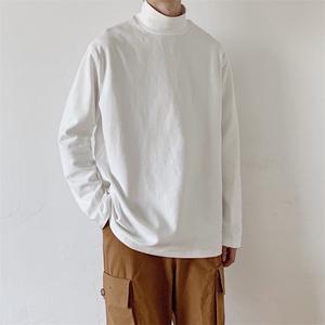 ベーシックハイネックTシャツ BL4838