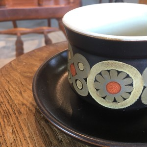 コーヒーカップ ソーサー セット ブラック 食器