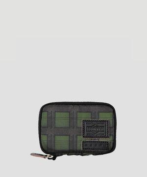 MARNI × PORTER Zip Coin Case Green  PFP1Q0P2945Z2F74UNI