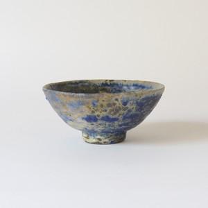 穴窯 瑠璃釉茶椀