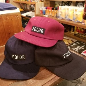 POLER OUTDOOR STUFF ポーラー FURRY FONT CAP