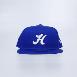 H Logo Baseball Cap ( BRIGHT ROYAL BLUE )