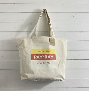 【PAY-DAY】(新品) CANVAS TOTE BAG