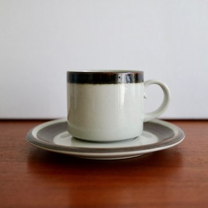 [SOLD OUT]【OUTLET】Arabia アラビア / Karelia カレリア コーヒーカップ&ソーサー