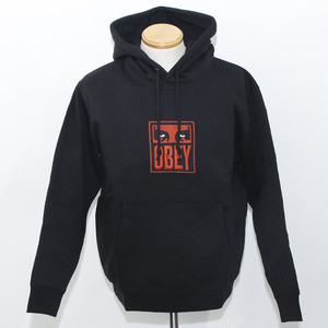 【OBEY】STACK HOOD (BLACK)