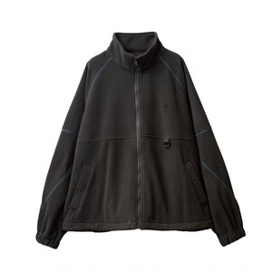 EVISEN STITCH FLEECE JKT Charcoal